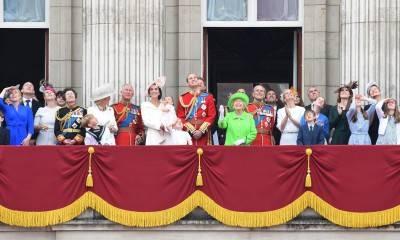 I 90 anni della regina Elisabetta: la Royal Family al balcone di Buckingham Palace 10
