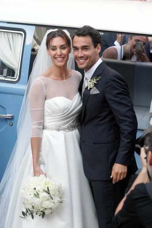 Flavia Pennetta e Fabio Fognini sposi 10