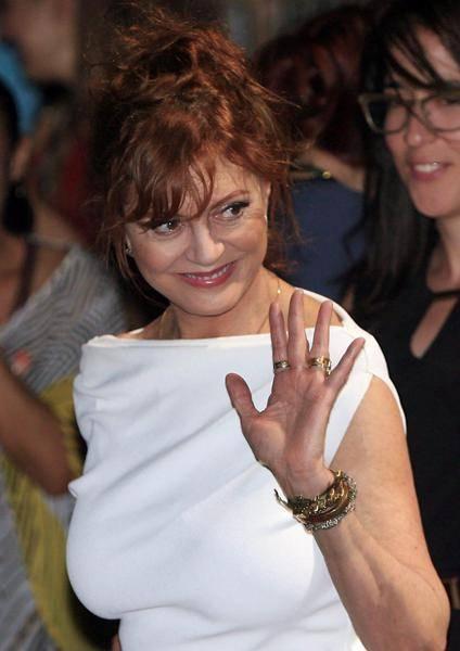 Susan Sarandon, le dichiarazioni dell'attrice al Taormina Film Fest 7