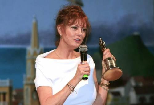 Susan Sarandon, le dichiarazioni dell'attrice al Taormina Film Fest 8