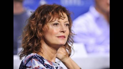 Susan Sarandon, le dichiarazioni dell'attrice al Taormina Film Fest 9