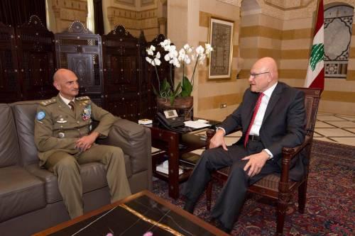 Unifil: generale Portolano si commiata da autorità libanesi 2