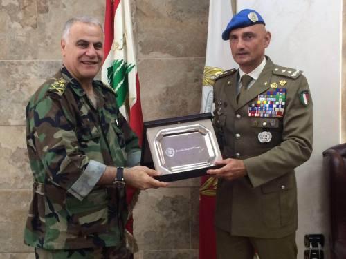 Unifil: generale Portolano si commiata da autorità libanesi 4