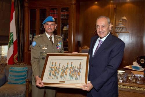 Unifil: generale Portolano si commiata da autorità libanesi 3
