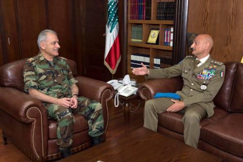 Unifil: generale Portolano si commiata da autorità libanesi 5