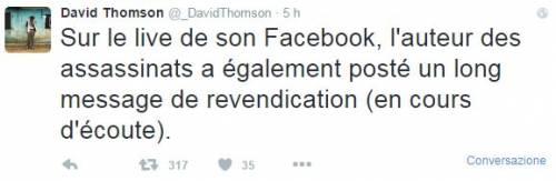 Parigi, i post del killer su Facebook 2