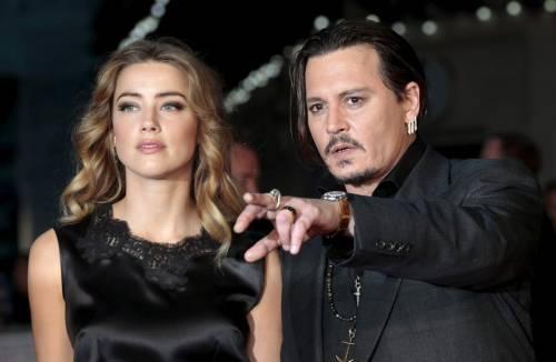 Gli audio che incastrano Amber Heard: picchiava Johnny Depp