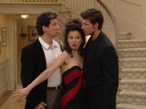 """""""La tata"""", immagini dal telefilm degli anni '90 2"""