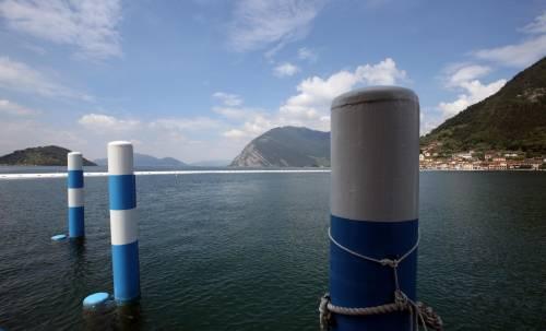 """""""The floating piers"""", la passerella di Christo 3"""