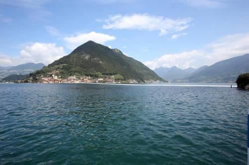"""""""The floating piers"""", la passerella di Christo 10"""