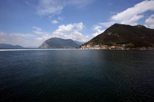 """""""The floating piers"""", la passerella di Christo 15"""