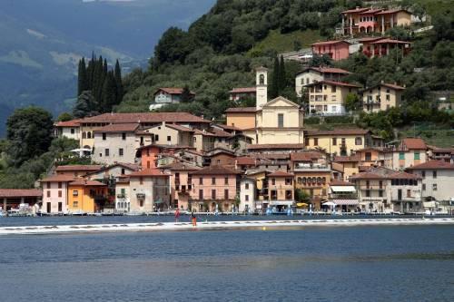 """""""The floating piers"""", la passerella di Christo 17"""