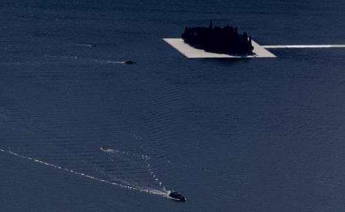 """""""The floating piers"""", la passerella di Christo 18"""