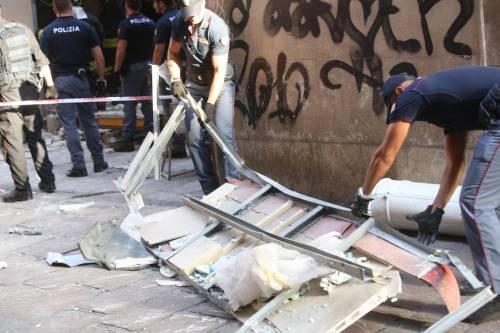 Bologna, esplosione in centro: sventrato un ristorante giapponese 4