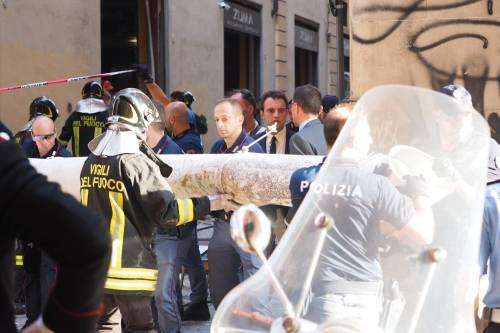 Bologna, esplosione in centro: sventrato un ristorante giapponese 17