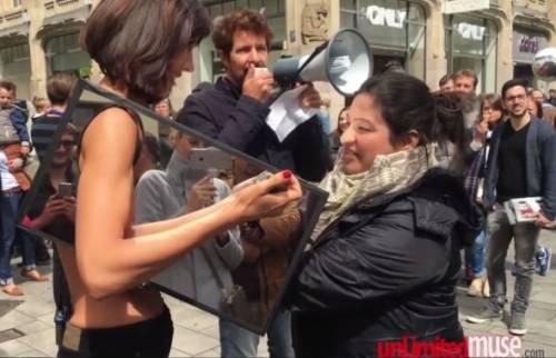 Milo Moiré arrestata a Londra: si faceva masturbare in pubblico 8