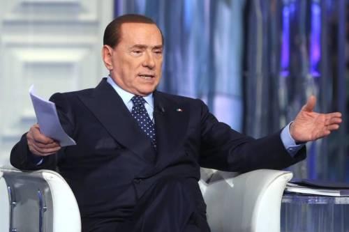 """Berlusconi: """"Mi candido per vincere. Se nessuno ha il 50% intesa inevitabile"""""""