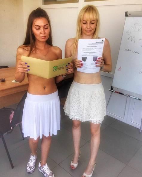 Se in Bielorussia i giovani vanno nudi al lavoro 3