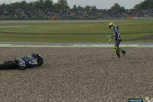 MotoGp, ad Assen vince Miller: Rossi si ritira