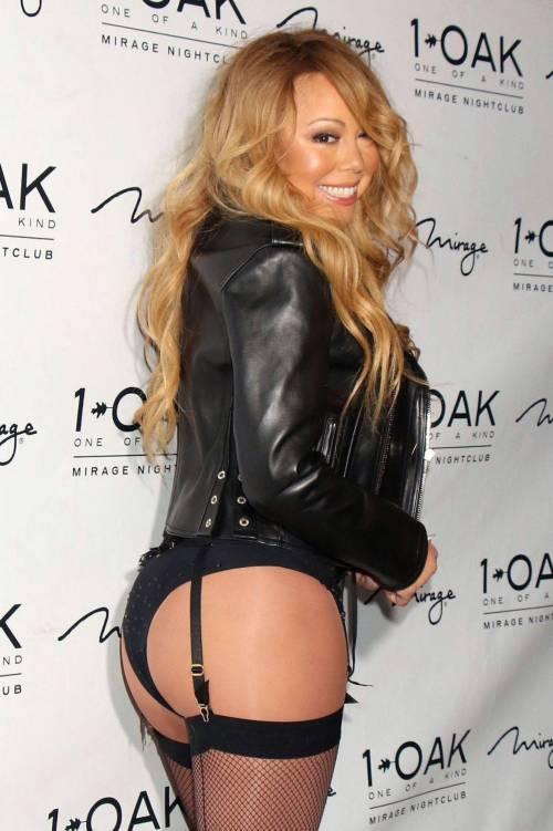 Mariah Carey mostra il lato b 7