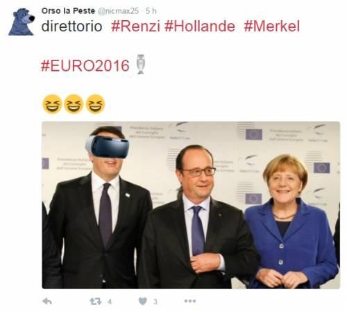 Si gioca Italia-Spagna, Renzi non può vederla: ironia sul web