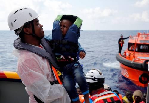 Migranti, il lavoro dei soccorritori nel Mediterraneo 2
