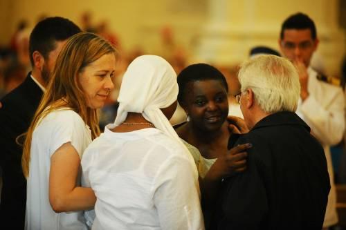 Fermo, i funerali di Emmanuel Chidi Namdi 4