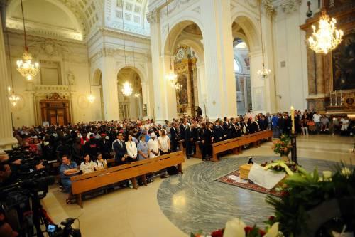 Fermo, i funerali di Emmanuel Chidi Namdi 5