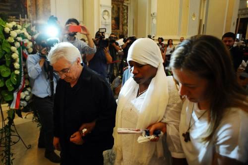 Fermo, i funerali di Emmanuel Chidi Namdi 9