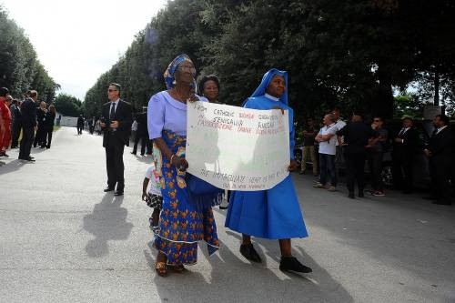 Fermo, i funerali di Emmanuel Chidi Namdi 3
