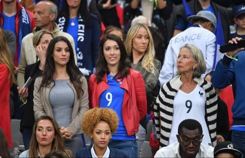 Le wag di Francia e Portogallo, le immagini 11