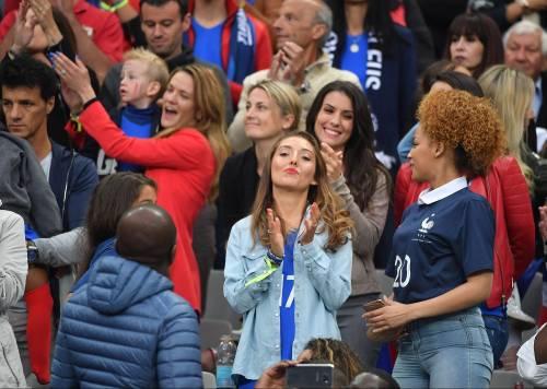 Le wag di Francia e Portogallo, le immagini 16