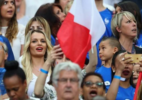 Le wags di Francia e Portogallo, le immagini 3