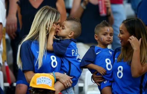 Le wags di Francia e Portogallo, le immagini 7