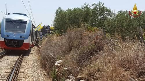 Lo scontro tra due treni in Puglia 2