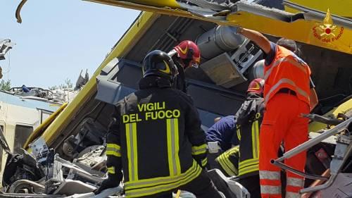 Lo scontro tra due treni in Puglia 7
