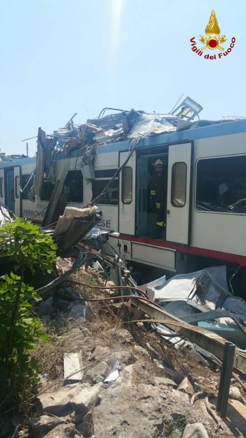 Lo scontro tra due treni in Puglia 6