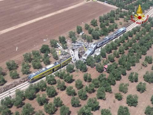 Lo scontro tra due treni in Puglia 3