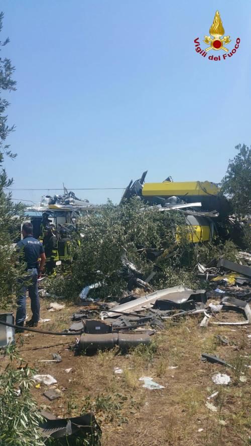 Lo scontro tra due treni in Puglia 8