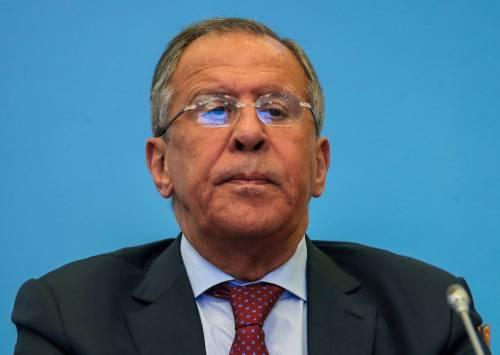 """Siria, Lavrov: """"Gli Usa non otterranno cambio di regime"""""""