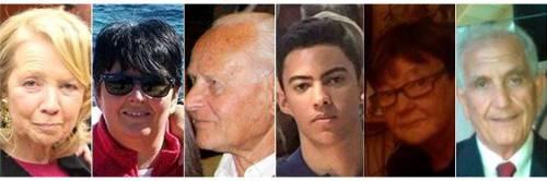 Rientrate in Italia le salme dei 4 italiani uccisi a Nizza