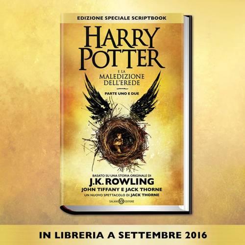Harry Potter: a settembre l'ottavo volume della saga