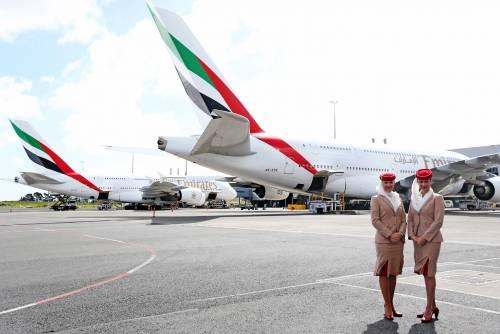 Emirates, più passeggeri per Malpensa: in linea il secondo A380