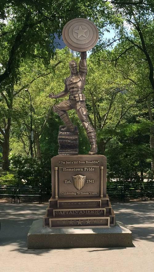 Capitan America avrà una statua in un parco di New York