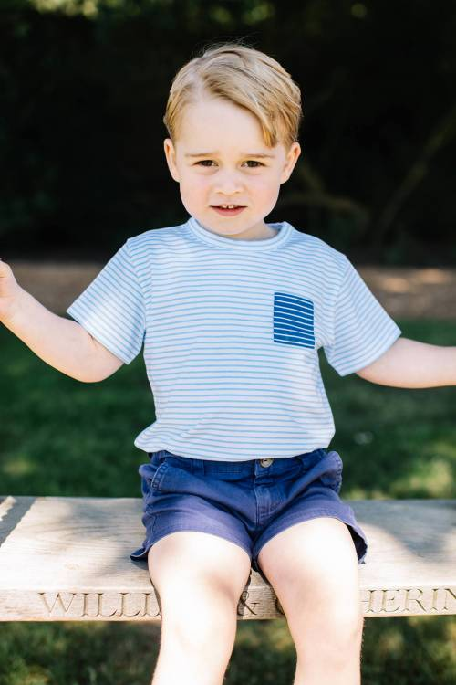 Il principe George compie 3 anni: le nuove foto da Kensington Palace 4