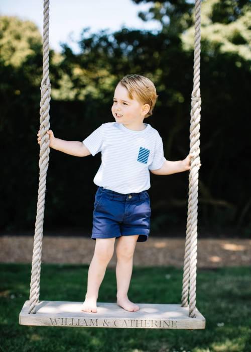 Il principe George compie 3 anni: le nuove foto da Kensington Palace 3
