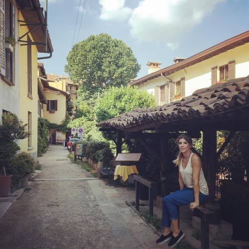 Elisabetta Canalis, a tutta famiglia dall'Italia a Malibu 6