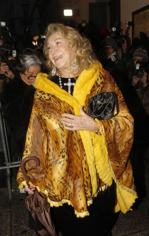 Addio a Marta Marzotto, regina dei salotti vip 5