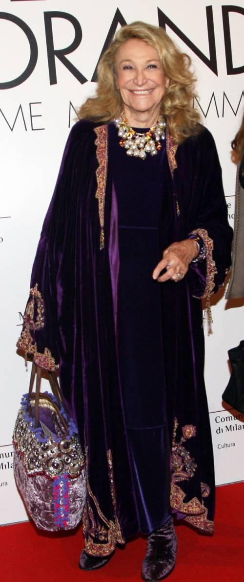 Addio a Marta Marzotto, regina dei salotti vip 8