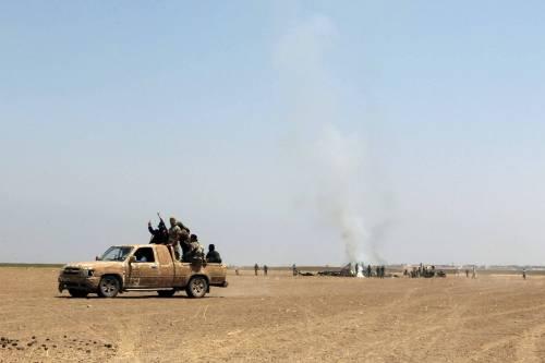 Elicottero Russo : Elicottero russo abbattuto in siria ribelli fanno scempio